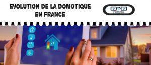 Une maison connectée : Evolution du marché de la domotique en France ces dernières années