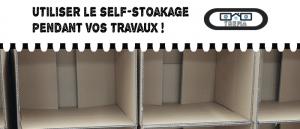 Avez-vous pensé au self-stockage pendant vos travaux ?