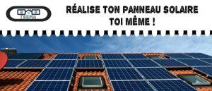Comment fabriquer un panneau photovoltaique ?