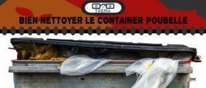 Comment nettoyer un container poubelle ?