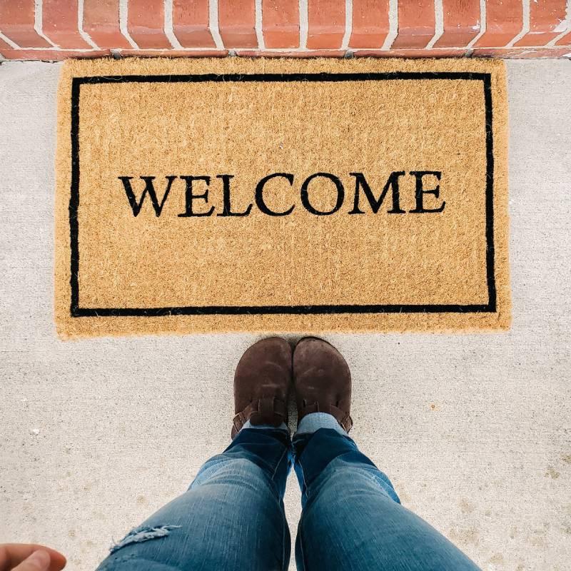 comment personnaliser son tapis d'entrée ?